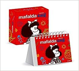 Mafalda 2018 Calendario de escritorio con caja - Rojo ...