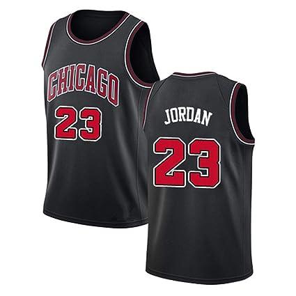 nouveau produit 777da 2479c Hommes Femme NBA Michael Jordan 23# Chicago Bulls T-Shirt de ...