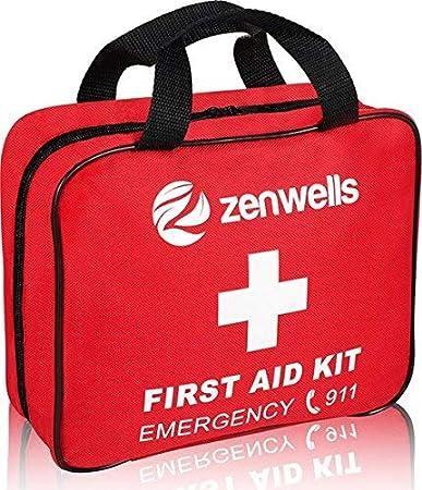 Amazon Com First Aid Kit Med Trauma Emt Medical Supplies Bag Car
