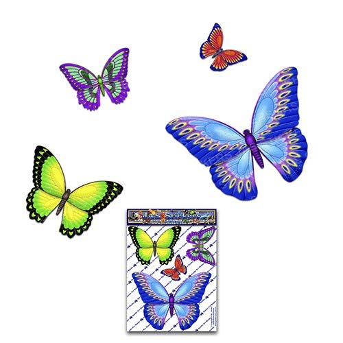 Multi Small Vinyl Stickers Pack For Laptop Bicycle JAS Stickers/® BUTTERFLY ANIMAL CAR DECAL Caravans Trucks Boats -ST025MC/_1