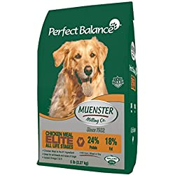 Muenster Milling Co Perfect Balance Elite - All Life Stages Dog Food 60lb