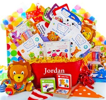 Baby Einstein Touch & Discover Deluxe Gift Basket by The Gift Basket Gallery