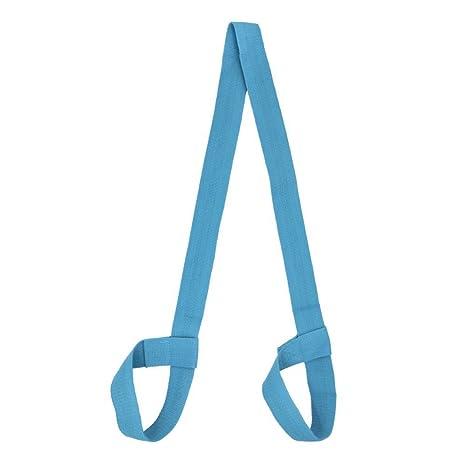 PlayCool Correa para Esterilla de Yoga, Correa de Transporte para Esterilla de Yoga, Color Azul, Tamaño Talla única