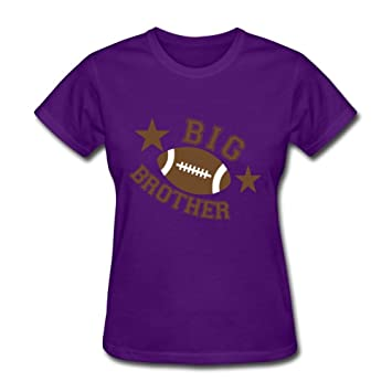 Big Brother Football Guadallen T Shirt Off-the-record Women Chic Purple 4fdb08ce37