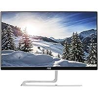 AOC i2381fh 23-inch Class IPS Frameless/Slim LED Monitor, Full HD,250 cd/m2 Brightness,5ms,20M:1 DCR,VGA/HDMI