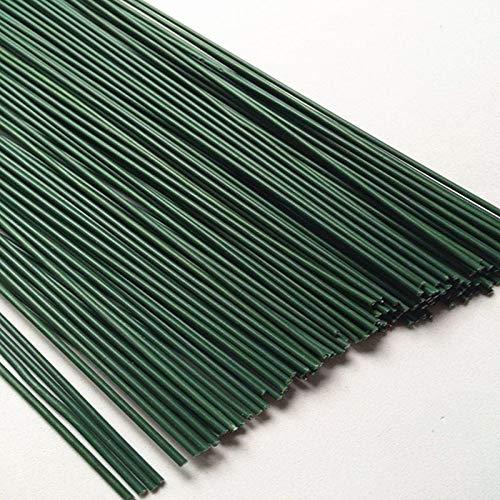 ShineBear プラスチック製フラワーロッド 直径0.2mm/0.0026インチ 長さ40cm 鉄製ワイヤー 50本 ナイロン製ストッキング フラワーメイキング B07P54J79Z