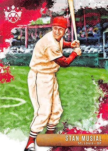 (2019 Panini Diamond Kings #1 Stan Musial St. Louis Cardinals Baseball Trading Card)