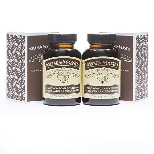 Nielsen-Massey Madagascar Bourbon Pure Vanilla Bean Paste, with gift box, 4 ounces, 2 pack by Nielsen-Massey (Image #1)