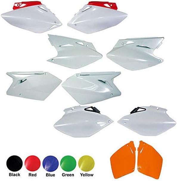 for Kawasaki SD PNLS KAWITH//SUZ White UFO KA03734-047 Replacement Plastic