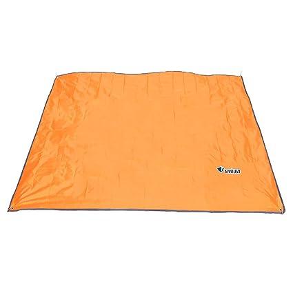 Bâche de camping imperméable pour pique-nique empreinte de tente et
