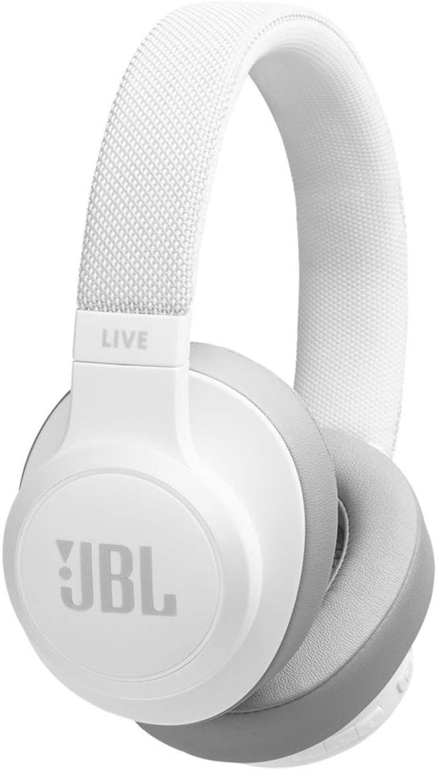 JB Live 500 BT, Around-Ear Wireless Headphone - White
