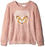 The Children's Place Big Girls' Sweater, Cherry Ice 84972, S (5/6)