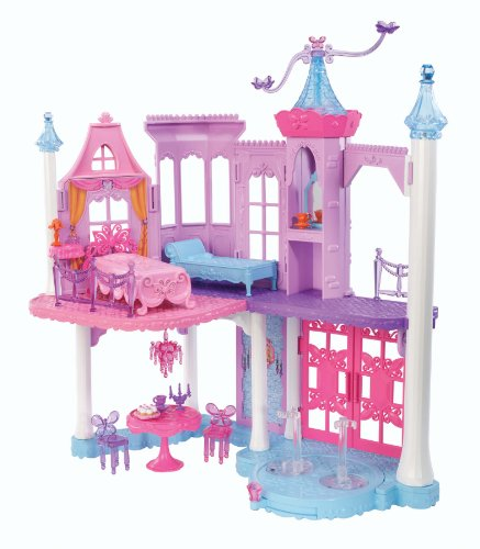 Barbie Mariposa and The Fairy Princess Castle Playset with (Fairy Castle Playset)