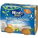 Hero Baby - Babynoches Verduras Pescadilla A La Crema Pack 2 x 190 g 8 Meses