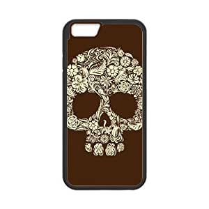 iphone6 4.7 inch phone cases Black Sugar Skull Cover Phone cover NAS3820831