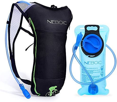 Neboic Hydration Backpack-Hydration Pack with Water Bladder 2L 70 oz in Lightweight Backpack Style Suit for Women, Men, Kids Hydration Backpack Cycling, Hiking, Biking, Kayaking