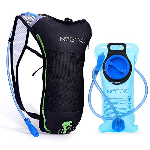 - Neboic Hydration Backpack-Hydration Pack with Water Bladder 2L (70 oz) in Lightweight Backpack Style Suit for Women, Men, Kids Hydration Backpack Cycling, Hiking, Biking, Kayaking