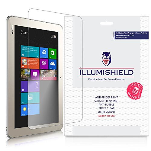 - iLLumiShield Clear Screen Protector for Toshiba Encore 2 Write 10 [2-Pack]