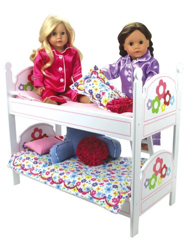 Galleon 18 Inch Doll Bunk Bed Doll Bedding Ladder Doll