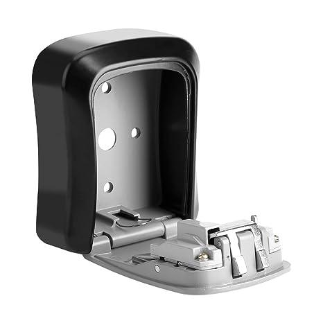 Garage Gym Outdoor Wall Mounted 4Digit Combination Key Lock Storage Security Box