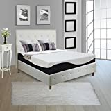 Continental Sleep Full 9 Mattress, Orthopedic Type Mattress, Quality Standard Memory Foam & Gel Memory Foam, Easily Removable & Washable Cover, Ultra Soft, Quality Mattress For Comfortable, Relaxing Nights