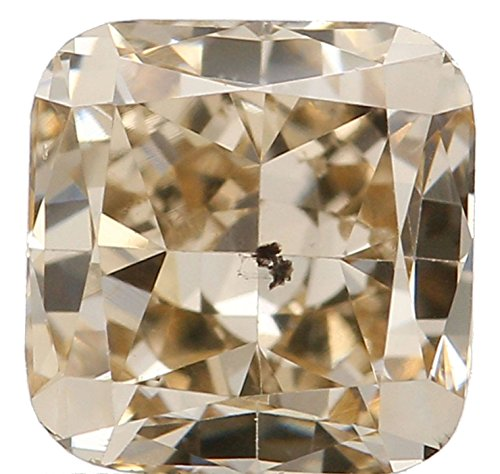 Si2 Cushion Loose Diamond (Natural Loose Diamonds Cushion Shape Brown 0.67 Ct SI2 4.50X4.50X3.45 MM L1646)