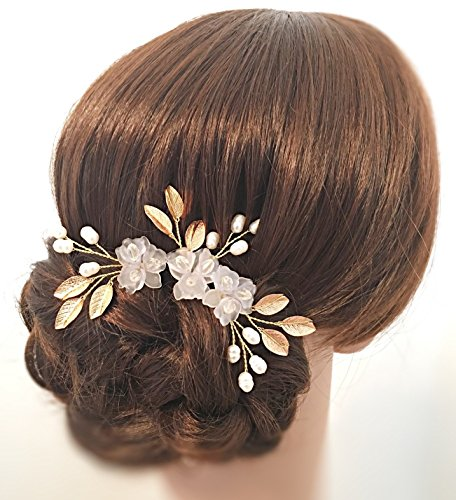 Wedding Bridal Hair Pin Flower Girl Bridesmaid