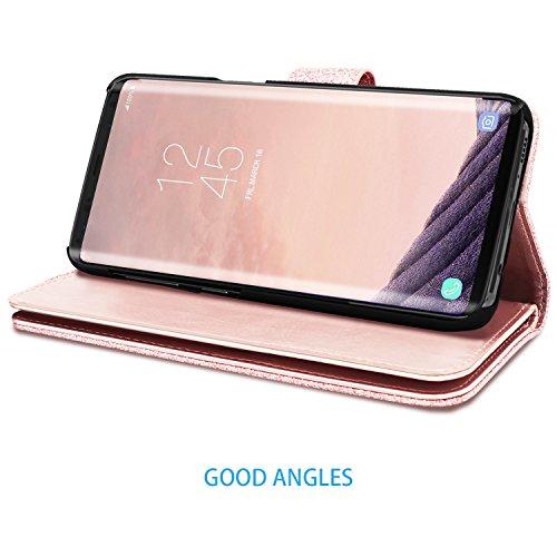 S9 Plus Wallet Case Galaxy S9 Plus Case Fingic Luxury