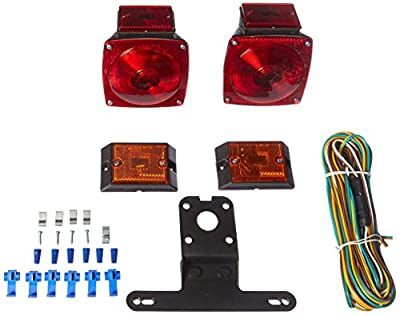 "MaxxHaul 70094 12V Trailer Light Kit (For Trailers Under 80"")"