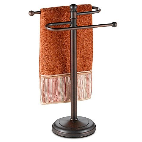 Curved Hand Towel Tree in Oil Rubbed Bronze 1 by Generic