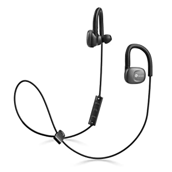TaoTronics Auriculares Bluetooth deporte inalámbricos aptX, Cascos Bluetooth 4.1 con Cancelación del ruido CVC6.