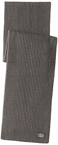 Lacoste-Mens-Classic-Wool-Ribbed-Scarf