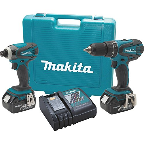 Makita XT211 18V LXT Lithium-Ion Cordless Combo Kit, 2-Piece (Discontinued by Manufacturer)