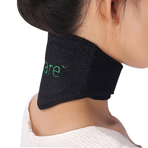 Tcare Tourmaline Magnetic Therapy Neck Brace Tourmaline Belt Support Cervical Vertebra Protection Spontaneous Self - Magnetic Chain