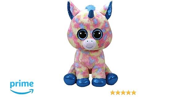 TY - Beanie Boos Blitz, peluche unicornio, color azul, 40 cm (United Labels Ibérica 36890TY): Amazon.es: Juguetes y juegos