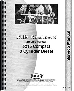 deutz allis 5215 tractor service manual deutz allis rh amazon com Deutz-Allis 5215 Parts Deutz-Allis 5215 HST