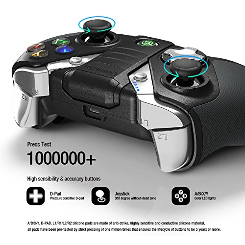 GameSir G4 Wireless Gaming Controller for Android Smartphone, Samsung Gear VR (NOT Include 2.4G Dongle) by GameSir (Image #5)