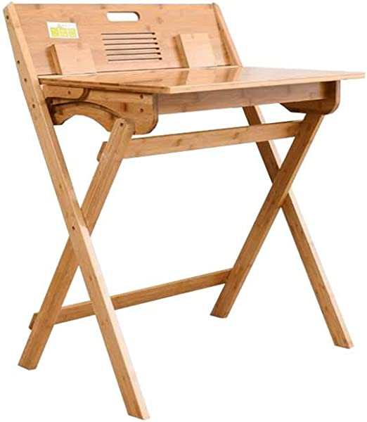 XUERUI Durable Mesa Bambú Doblez Sencillo Aprender Libro Mesa Casa ...