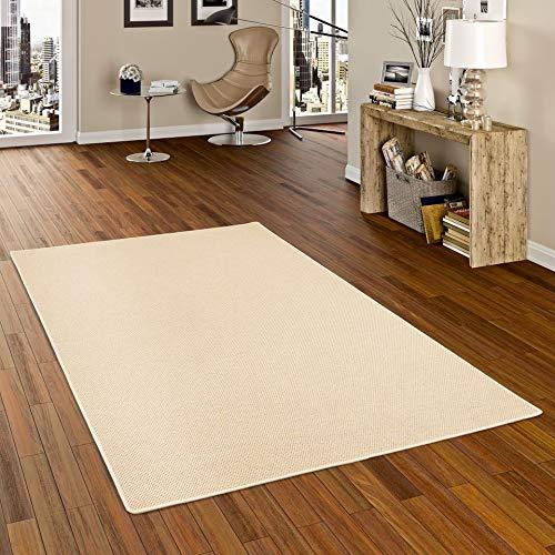 Bentzon Teppich Flachgewebe Beige in 22 Größen B002HS91R6 Teppiche