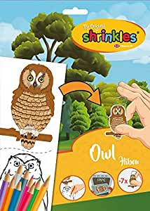Shrinkles Shrinkles-WZ080 wz080 Animales del Bosque búho Slim Pack ...