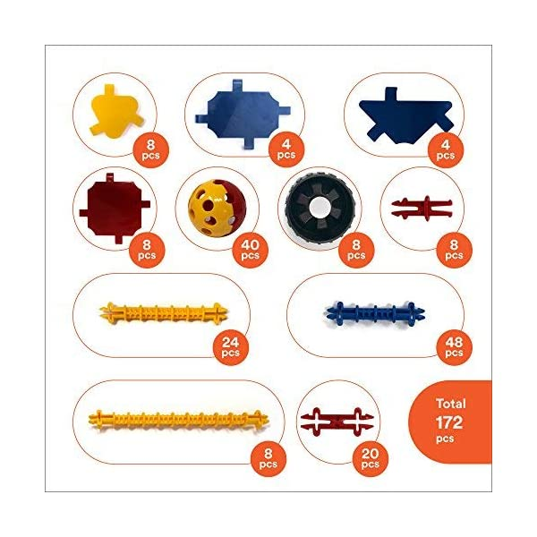 Gifts for Kindergarten Pre K Age Cameron Frank Products Tinker and Take Apart to Spark Creativity in Kids and Toddler Crafty Connects STEM Building Toys Set Educational Learning Toy for Boys and Girls Ages 3 4 5 6 7 8 9