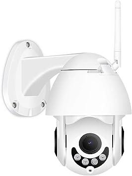 Opinión sobre 1080P inalámbrico de detección de Movimiento PTZ cámara IP, WiFi al Aire Libre Audio bidireccional de Seguridad CCTV Monitor, Blanco, 32G, EE.UU. JIAJIAFUDR (Color : 64g, Size : US)