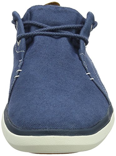 Timberland Herren Gateway Pier Canvas Sensorflex Oxfords Blau (middernacht Marine Canvas 431)