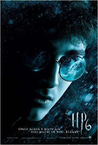 Harry Potter and The Half Blood Prince - Movie Poster (Once Again I Must Ask Too Much of You, Harry) (Size: 27 inches x 39 inches)