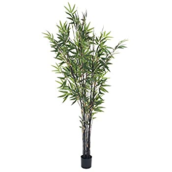 Pure Garden 5 Foot Japanese Bamboo Artificial Tree