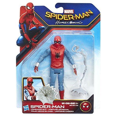 6-inch Hasbro B9701 Homecoming Homemade Suit Figure Spider-Man