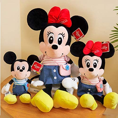 HUOQILIN Mickey & Minnie Mickey Mouse knuffel pop babypop kinderen verjaardagscadeau (Color : D, Size : XL)