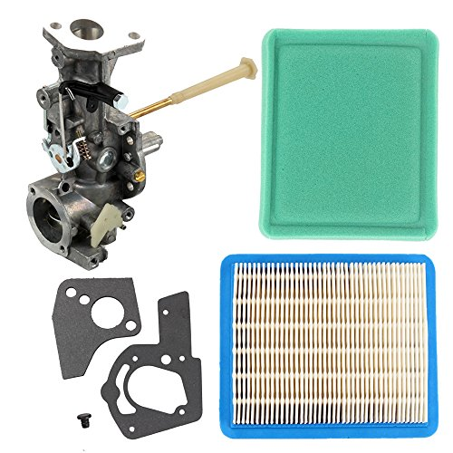 Butom 498298 Carburetor with Air Pre Filter Gasket for Briggs & Stratton 495951 112202 112212 112232 112252 112292 134202 135202 133212 130202 135200 112200 130200 Engine