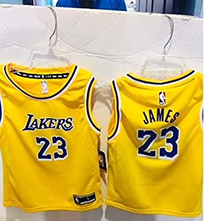0ffc1d01f6ca Amazon.com   Outerstuff Boy s Los Angeles Lakers Lebron James Icon ...