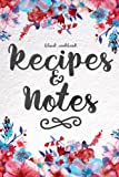 Blank Cookbook Recipes & Notes: (Cooking Gifts Series)